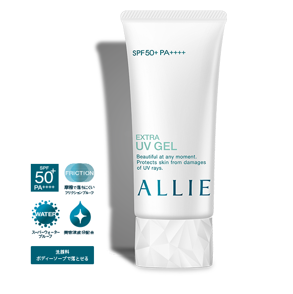 Allie Extra UV Gel SPF50 PA+++4 90g by Kanebo Japan