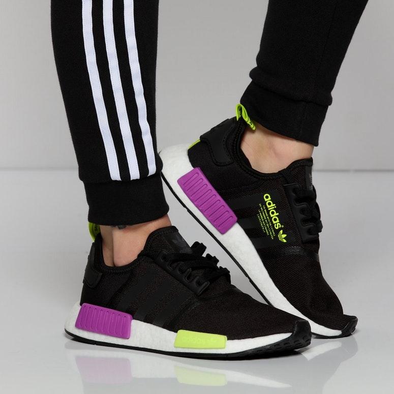 nmd r1 black purple green Shop Clothing