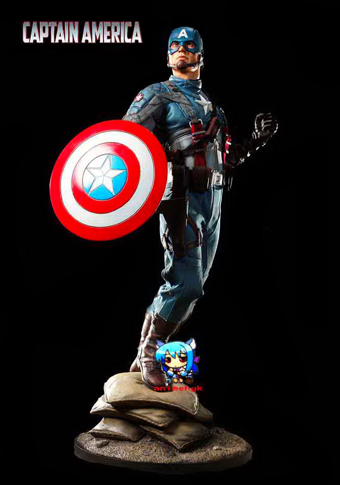 captain america model