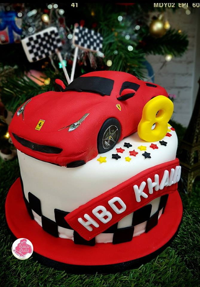Cars cake, Ferrari, Lamboghini - Birthday cake,Shop,Wedding