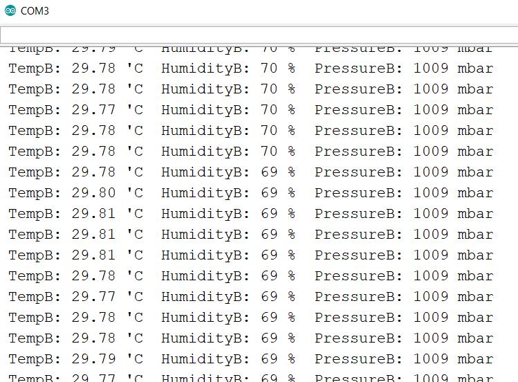 GY-BME280-5V Digital Temperature-Humidity-Barometric