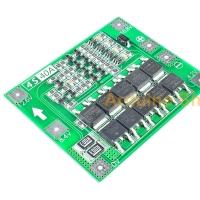4S BMS LiPo Li-ion Board 18650 Balance PCB Battery Protection 4.2V 16.8V Blau