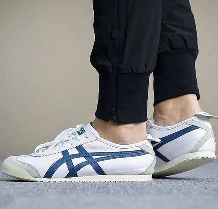 on sale 70c8c e6dc0 Onitsuka Tiger Mexico 66 White/Ink Blue