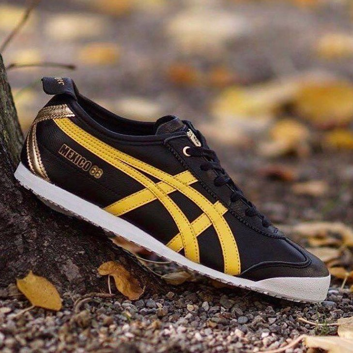 detailed look dd3de e8041 Limited Edition Onitsuka Tiger Mexico 66 Premium Pack (Black/Yellow)