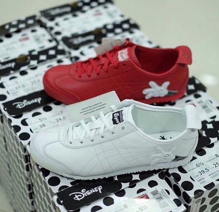 sports shoes feb71 84eef Limited edition disney Onitsuka Tiger Mexico 66 Mickey Mouse)